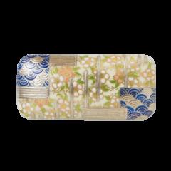 桜青海波紋 (Pt)<br>桜舞い散る、春の舞