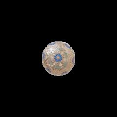 瓔珞紋Pt藍 <br />洗練さがより凝縮された吉祥紋